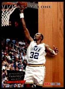 1993-94 Hoops Supreme Court #SC6 Karl Malone JAZZ NM-MT *26
