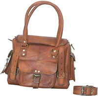Oldest Leather Messenger Women Bag Purse Tote Handbag Satchel Cross body New Bag