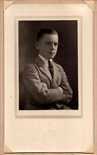 Superb Vintage Photo of Young Boy In Suit – Utica New York