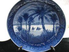 1972 Royal Copenhagen Christmas Plate