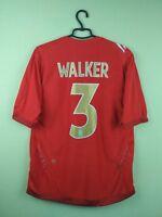 Team England jersey shirt #3 Walker 2006/2008 Away umbro football soccer size L