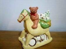 Rocking Horse Christmas Coin Bank Mikasa