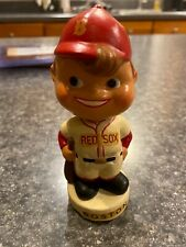 Vintage 1960s Boston Red Sox Mini Moon Face Nodder Bobblehead ..  RARE
