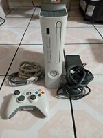 Microsoft Xbox 360 Video Game Console With wireless wifi adapter & controller