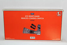 "Lionel  #65165 ""072"" Tubular Right Hand Remote Switch"