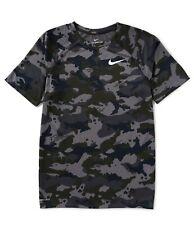 Nike Training Dry Camo T-Shirt In Gray, XL 923524-036