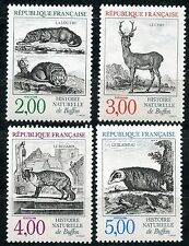 TIMBRE FRANCE NEUF** SERIE N° 2539/2542 FAUNE