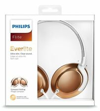 PHILIPS Earphones Headphones + MIC Line Remote Gym Sports Headset 3.5mm