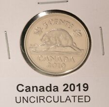 2019 Canada 5 Cent - UNCIRCULATED from Mint Roll 🇨🇦