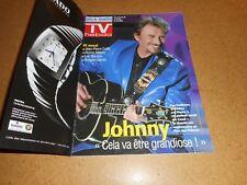 "Johnny Hallyday Magazine ""TV Hebdo"" Nice-Matin  05/2003"