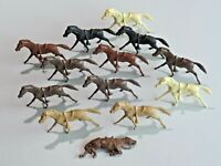 Vintage Lot of 13 Marx Plastic Toy Horses Fort Apache Cavalry Horses 8420