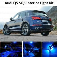 BLUE PREMIUM AUDI Q5 SQ5 FULL INTERIOR FULL UPGRADE LED LIGHT KIT