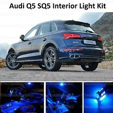 BLUE PREMIUM AUDI Q5 SQ5 FULL INTERIOR FULL UPGRADE LED LIGHT KIT