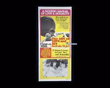 ABC of Love & Sex Australia Style 1978 Soft Porn Daybill Orig Aust Movie Poster