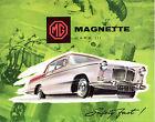 MG Magnette MkIII 1959-60 UK Market Foldout Sales Brochure