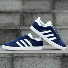 Adidas Originals Gazelle Suede Navy/White Sneakers Trainers - US 8