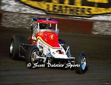 Original 1980'S Buster Venard Tamale Wagon 8 X 10 CRA Sprint Car Ascot Photo
