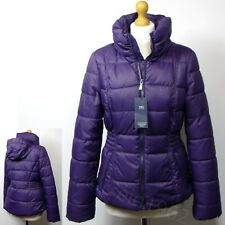 M&S Padded & Quilted STORMWEAR JACKET with HOOD ~ Size 8, 10 or 12 ~ GRAPE