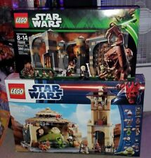LEGO Star Wars Jabba'a Palace 9516 and Rancor Pit 75005 rare retired  new hot