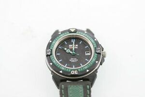 Sector Expander Watch Men Stainless Steel Black Battery 100m Non-working Part