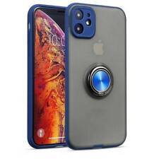 For iPhone 11 Pro Max XS X 8 6 Shockproof Bumper Magnetic Ring Holder Case Cover
