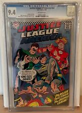 JUSTICE LEAGUE OF AMERICA #44 - CGC 9.4 - PLAGUE THAT STRUCK THE JUSTICE LEAGUE