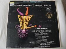 ORIGINAL BROADWAY CAST FUNNY GIRL VINYL LP 1972 CAPITOL RECORDS CORNET MAN, VG+