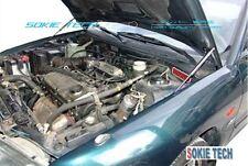 Mitsubishi Evolution EVO 1 2 3 CD9A CE9A Black Damper Kit for Aluminum Hood