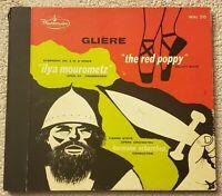 Gliere: Symphony No 3 Red Poppy Ballet Suite/Scherchen Westminster 2LP Set VG+