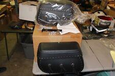 Leatherlyke Hard Saddlebags 410 Kawasaki VN1500L 1996-1997 C3-4 Model Vulcan