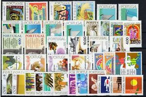 1977 PORTUGAL - Ano completo MNH