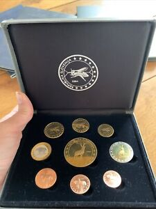 Münzen Probe Slovenien 2004
