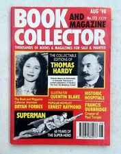 Book Magazine Collector #173 August 1998 Historic Hospitals Superman Quentin Bla
