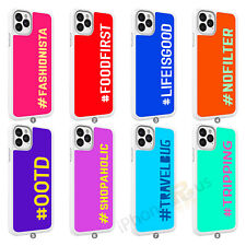 Personalised Phone Case Cover Initial Text Name For Samsung Galaxy S20 A21 104