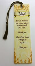 DAD-142BM Horse Montage /'Love You Dad/' Bookmark Book Mark Christmas Stocking F