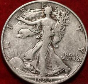 1929-D Denver Mint Silver Walking Liberty Half