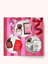 VICTORIAS SECRET TRIO 3 PC GIFT SET BOMBSHELL BS HOLIDAY BS INTENSE PERFUME New