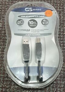 GS SERIES USB HI-SPEED 2.0 CABLE A MALE TO B MALE😮😮😮
