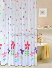 Multicolor Small Flowers Picture Design Bathroom Fabric Shower Curtain Ys259