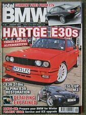 Total BMW January 2010 Hartge E30 318iS E36 Alpina E39 B10 M3 E92 530d E60 5 Ser