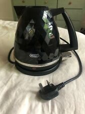 Delonghi Black Brillante Kettle