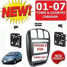 01-07 CARAVAN / TOWN & COUNTRY Car Radio Stereo Installation Double Din Dash Kit