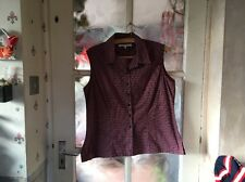 Lyle And Scott Ladies Sleeveless Blouse Size Large, Beautiful Condition.