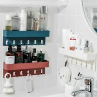 Shower Rack Shelf Bathroom Storage Caddy Organiser Basket Suction Shelf Tidy