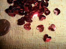 Vintage Red Heart Sequines