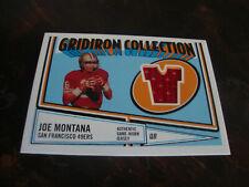 2005 Topps Heritage Football---Gridiron Collection Relic---#GCR-JM Joe Montana