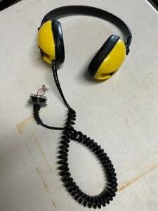 Minelab Excalibur headphones plus endcap, all original