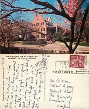 s14449 Inn at Chapel Hill University of, North Carolina, USA postcard 1959 stamp