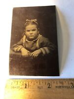 Vintage Tintype Victorian Photo Child Antique Tin Type