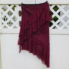Ark & Co. sexy Burgundy Lace Skirt**Small